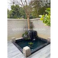 良好園林 黑山石景觀石造景庭院花園圍邊景觀水池造景