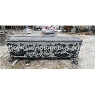 青石石雕鱼缸