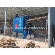 石材喷砂机、除尘设施