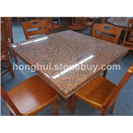 枫叶红石桌